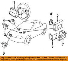 Geo GM OEM 92-93 Metro Airbag Air Bag SRS-Front Impact Sensor 96063915