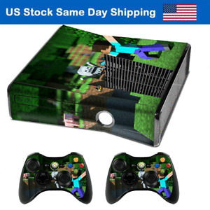 Skin Sticker Cover Gamepad for Xbox 360 Slim Console & 2 Controller Decal 20Pack
