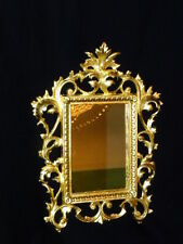 Beautiful Art-Nouveau Rococo style. Gold leaf Mirror/picture