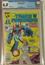 Transformers #9 CGC 6.0 RARE Newsstand 1st Appearance of Circuit Breaker white