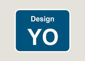 5x Design Your Own Train Depot Stickers/Decals 100 x 77mm
