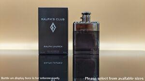 Ralph's Club Ralph Lauren Authentic 2ml 5ml 10ml 15ml 20ml 30ml Sample sizes