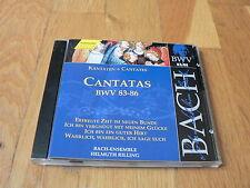 Helmut Rilling - Bach : Cantatas BWV 83-86-  CD Vol. 27 Hanssler Edition