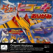 Japanese Origami Paper Kit - 9 Style Ufo Airplanes S-3622 Au