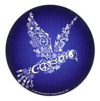 Coexist Car Sticker Cool Spirit  Dove Symbol Vinyl Decal Men Women Unique Blue
