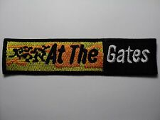 AT THE GATES LOGO    EMBROIDERED PATCH