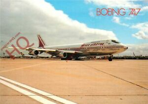 Picture Postcard: AIR INDIA BOEING 747