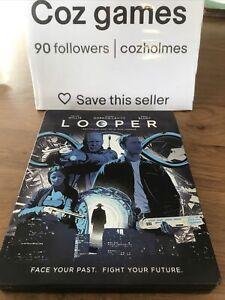Looper Blu-Ray And N STEELBOOK Case Rare Bruce Willis Emily Blunt Region B