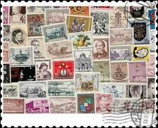 More details for austria large & commemoratives : 100 different stamps collection