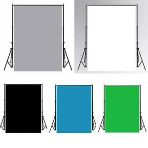 5 Size Solid Colors Photography Studio Background Screen Colors Walls Backdrop