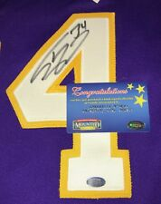 Shaquille O'Neal Signed Nike Authentic Los Angeles Lakers Jersey Purple MM COA