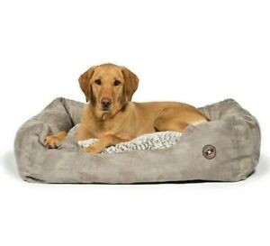 "ARCTIC SNUGGLE BED - 18"", 23"", 28"" or 34"" inch Danish Design Dog Beds dd Nesting"