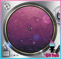 "Geometric Galaxy #11 Turntable Slipmat 12"" LP Record Player, DJ Space Orbit"