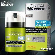 50 ML. L'Oreal Men Expert Moisturizer Cream White Activ Bright Oil Control Serum