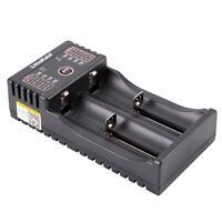 1X(Liitokala Lii-202 5V 2A Battery Charger For 18650 26650 16340 14500 Aa / B2E5