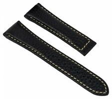Citizen Uhrenarmband Leder ohne Schließe schwarz 22mm Promaster AS4035-04E 28632