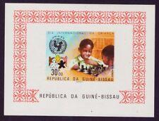 GUINEA-BISSAU 1979 Jahr des Kindes  Schach Chess  LUXUSBLOCK geschnitten **/MNH