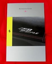 Ferrari 458 Speciale RARE Owners Handbook - Condensed Version 2013 - UK/Eng Text