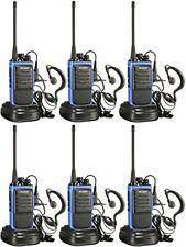 Walkie Talkie 2 Two Way Radio FRS GMRS Mile Motorola Paintball Handheld6 Pack