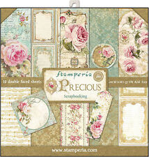"Stamperia Double-Sided Paper Pad 12""X12"" 10/Pkg-Precious Gift, 10 Designs/1 Each"