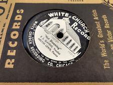 EL Slavens 78 White Church 1100 Under His Wings/Not Rare Southern Gospel