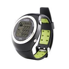 POSMA GT2 Golf Trainer + Activity Tracking GPS Golf Watch Range Finder - Green
