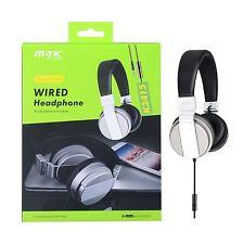 MTK Foldable Headphones Silver