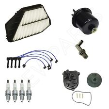 Tune Up Kit Spark Plugs & Wires with Filters fits Honda Accord 2.2L F22B2 Eng