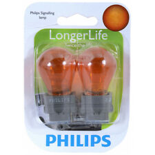 Philips Long Life Mini Amber Light Bulb 3156NALLB2 for 3156 3156NALL P27W qm