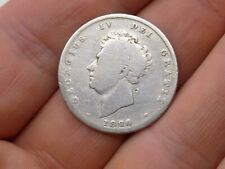 More details for a george iv silver one shilling, 1826, good condition, sterling silver coin.