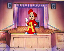 Alvin And The Chipmunks Animation Production Cel 1995 Copy Bg Stage