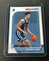 2019-20 Panini NBA Hoops Brandon Clarke Rookie RC #217, Memphis Grizzlies