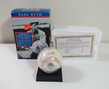 All Star Heroes -Babe Ruth Limited Edition Baseball Collector Signature Set 1996