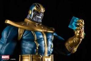 Marvel XM Studios 1/4 THANOS Figure Statue Avengers Sideshow Bowen BRAND NEW MIB