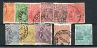 Australia 1926-30 perf 13 1/2 x 12 1/2 set to 1s 4d mainly FU CDS