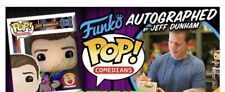 NEW AUTOGRAPHED JEFF DUNHAM FUNKO POP LIMITED EDITION SOLD OUT IN HAND GOLD INK