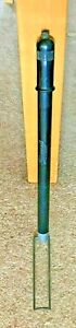 VINTAGE RETRO 1950'S BICYLE BAKELITE PUMP BLACK PULL DOWN FOOT STAND BLUEMELS