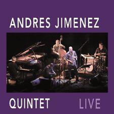 CD  LIVE Andres Jimenez Quintet   Digipack  (K164)
