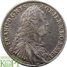 Aa4934) Norimberga TALLERO 1760, SS/IMF con titolo Franz I. kontribution impresso