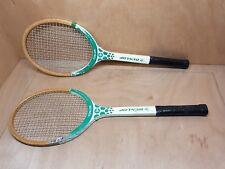 raquette de tennis Dunlop Junior paire lot de 2 vintage