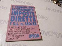 1 Enero 1989 Determinación Persianas Directa Y D. L. 550/88 Ipsoa