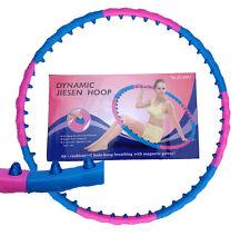 Hula Hoop Massage Reifen 1,0 kg Magneten leicht abnemmen Bauchweg 6011
