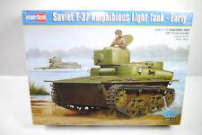 HOBBY BOSS 83818 Soviet T-37 Amphibie Lumière Réservoir Collectible 1:3 5 F11
