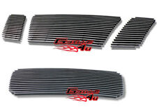 For 08-11 2011 Nissan Titan Billet Premium Grille Combo Upper+Lower