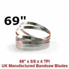 Butchers Meat Bandsaw Blades (5 Pack) - 69""
