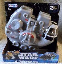 MIGHTY BEANZ STAR WARS MILLENNIUM FALCON COLLECTOR CASE TOYS R US EXCLUSIVE