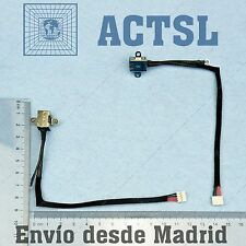 CONECTOR DC JACK  LG R510 (With cable)