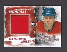 ITG Forever Rivals Brian Bellows Montreal Canadiens Game Used Jersey Card #M-26