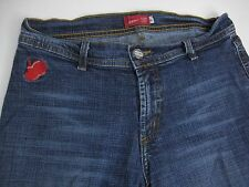 Apple Bottoms Skinny Stretch Women's Dark Denim Jeans Size  6