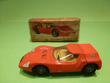 DINKY TOYS 217  ALFA ROMEO OSI SCARABEO - ORANGE 1:43 - EXCELLENT IN BOX
